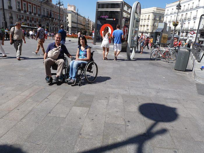 En la Puerta del Sol de Madrid. (Foto: David Rivas)