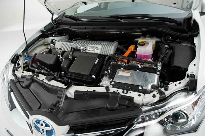 Toyota Auris HSD híbrido. Prueba de consumo. Técnica, motor