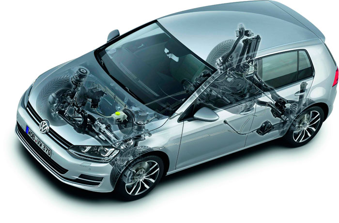 Volkswagen Golf 1.4 TSI. Técnica, motor
