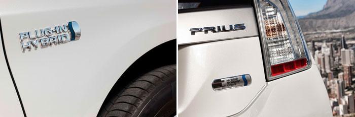 Toyota Prius III Plug-in. Anagrama