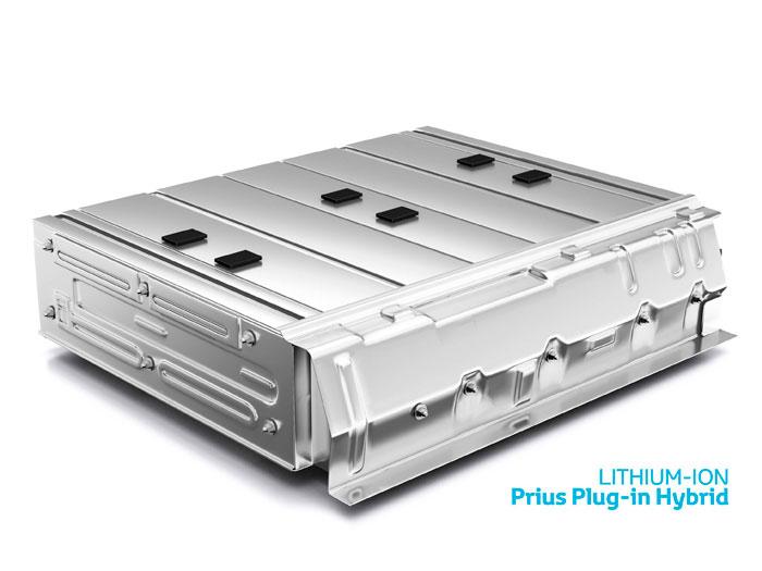 Toyota Prius III Plug-in. Pack de baterías de ion-litio