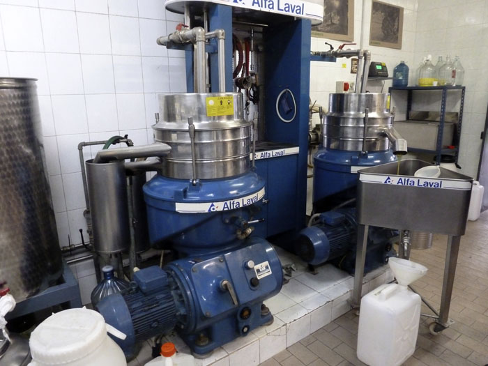 Aceite centrifugado