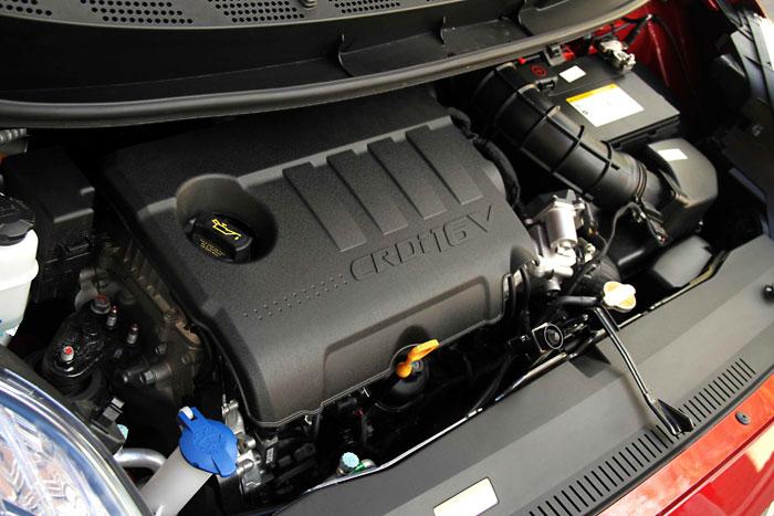 Hyundai ix-20 1.6-CRDi 116 CV. Motor