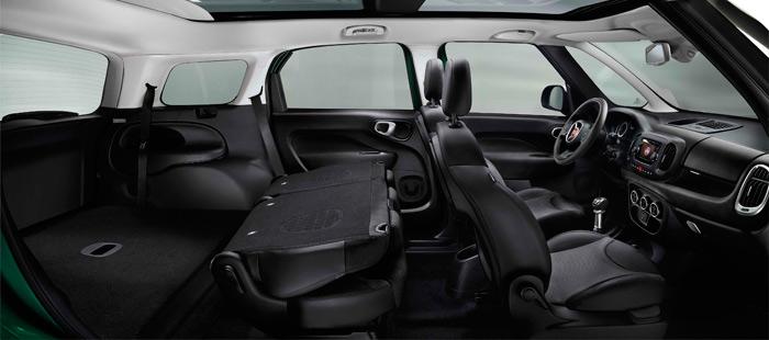 Los dos asientos posteriores quedan limpiamente escamoteados, si bien restan 145 litros de maletero respecto al 5 plazas.