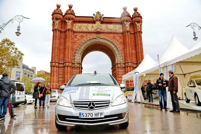 Mercedes Benz E Cell