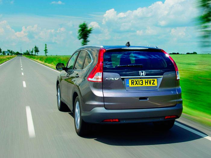 Honda CR-V. Prueba de consumo.