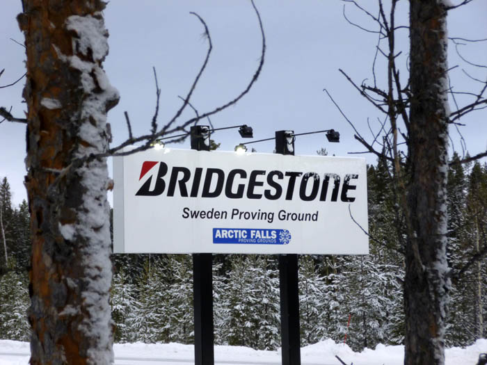 Bridgestone Sweden Proving Ground