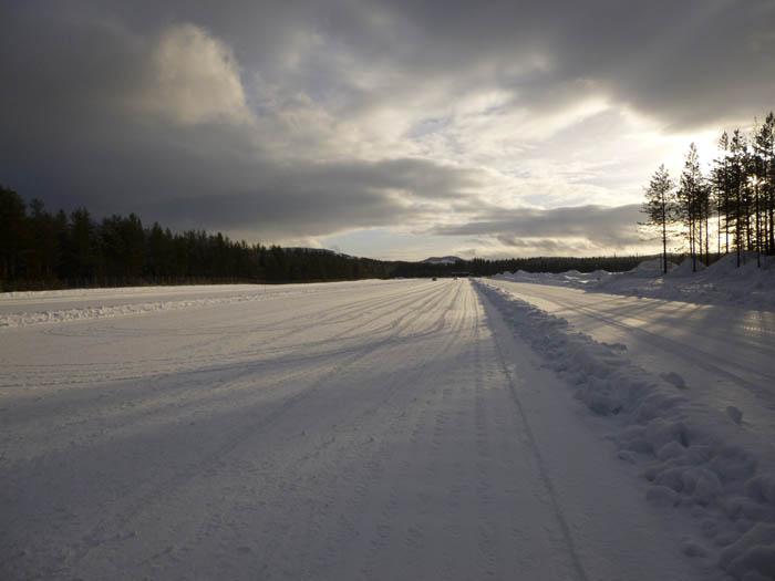 Bridgestone. Pista de pruebas. Suecia