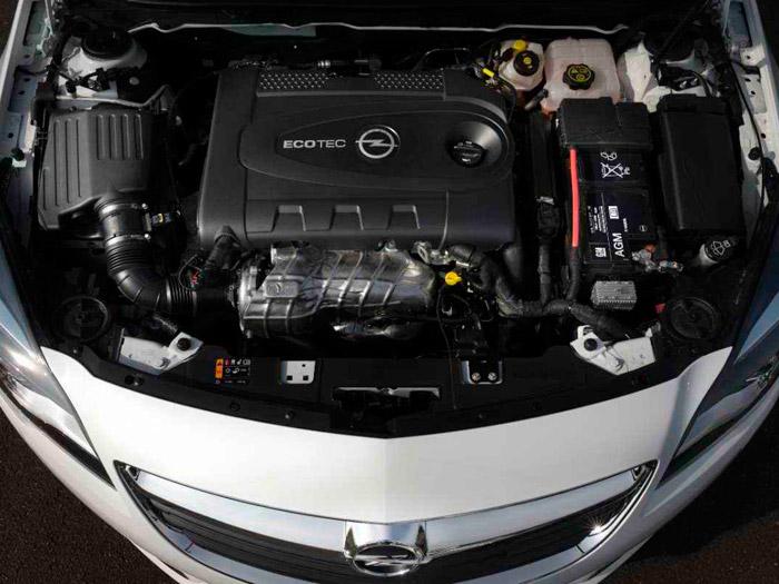 Opel Insignia. Prueba de consumo. Motor