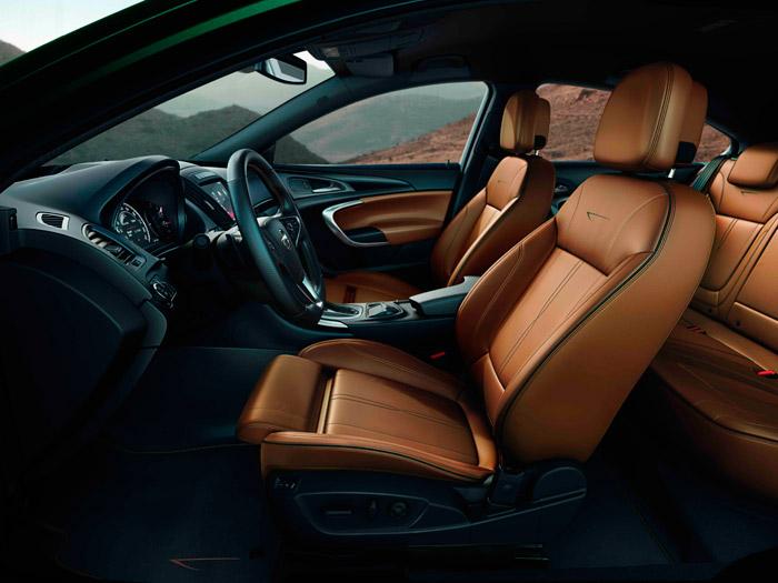 Opel Insignia. Prueba de consumo. Interior. Asientos