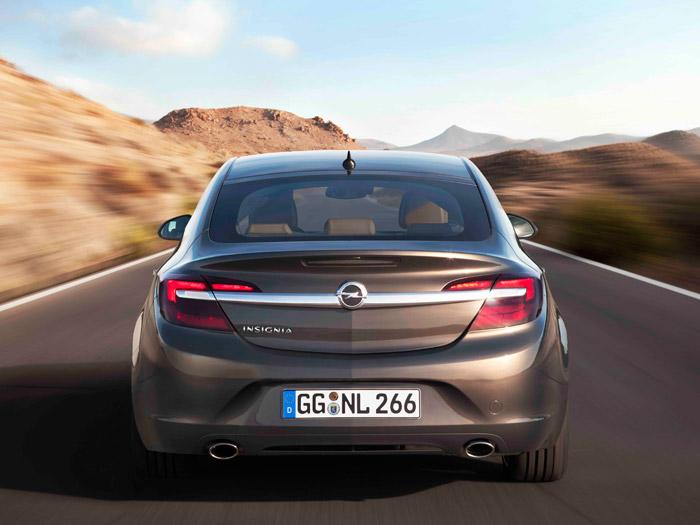 Opel Insignia. Prueba de consumo