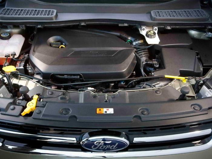 Ford Kuga. Prueba de consumo. Motor