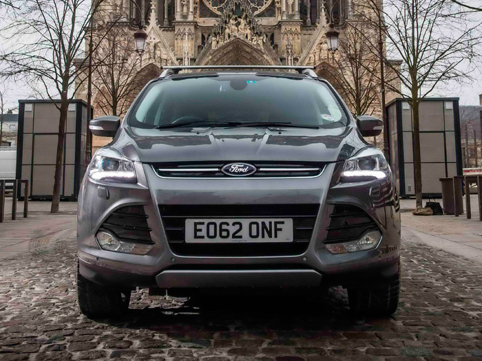Ford Kuga. Prueba de consumo