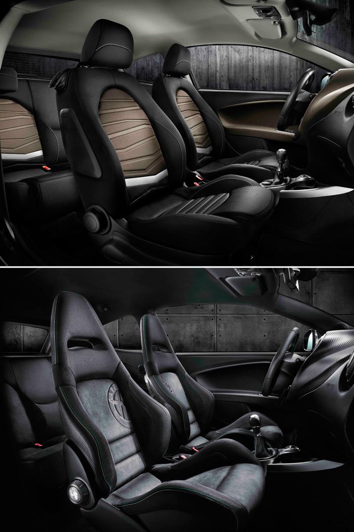 Los asientos de serie del Sportiva y los del auténtico Q.V.: aquí sí que hay una diferencia notable.