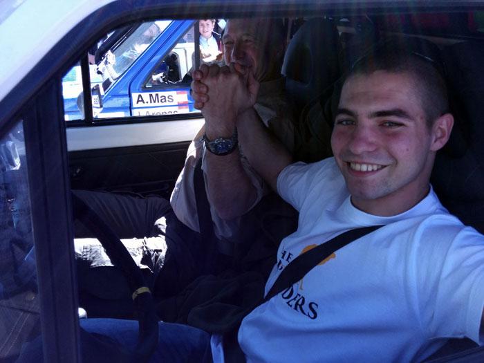 Adrián Piccione y Víctor Piccione. Panda Raid