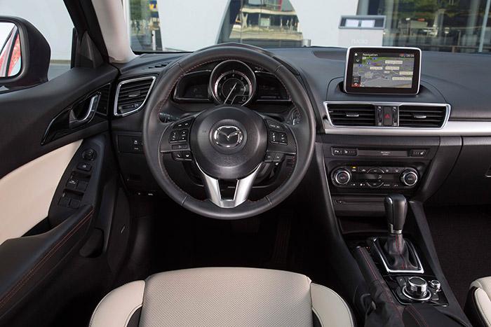 Prueba de consumo (156): Mazda-3 SportSedán 2.2D 150 CV