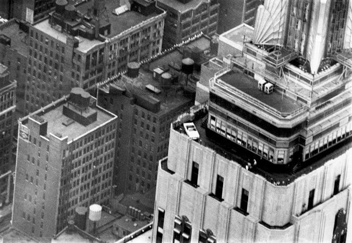 Mustang alpinista: subiendo al Empire State
