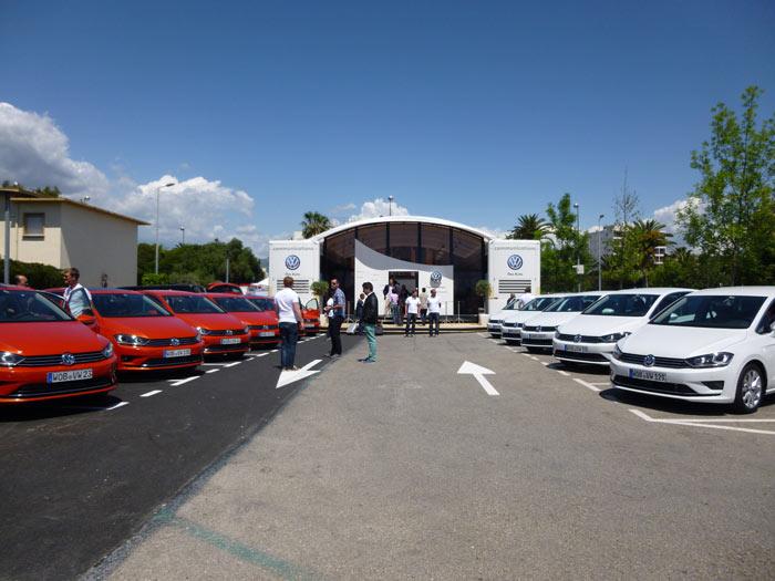 Volkswagen Golf Sportsvan 2014 Presentación