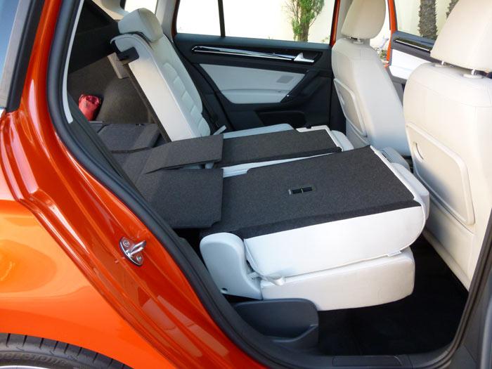 Volkswagen Golf Sportsvan 2014 Asientos Traseros plegados