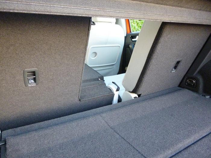 Volkswagen Golf Sportsvan 2014 maletero Hueco ma