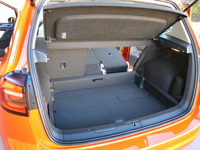 Volkswagen Golf Sportsvan 2014 Maletero