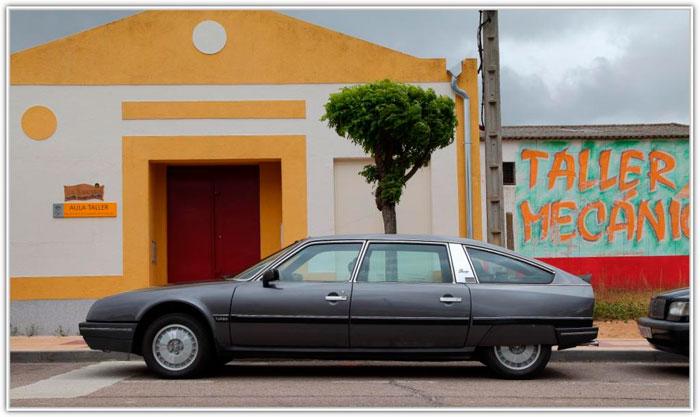 """Un CX de carrocería alargada """"Prestige"""", en este caso con motor Turbo. El coche de los Presidentes de la República Francesa, empezando por Giscard d'Estaing."""