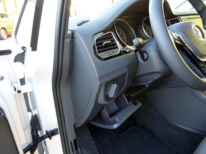 Volkswagen Golf Sportsvan. Cajetín.