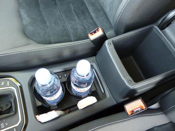 Volkswagen Golf Sportsvan. Consola central.