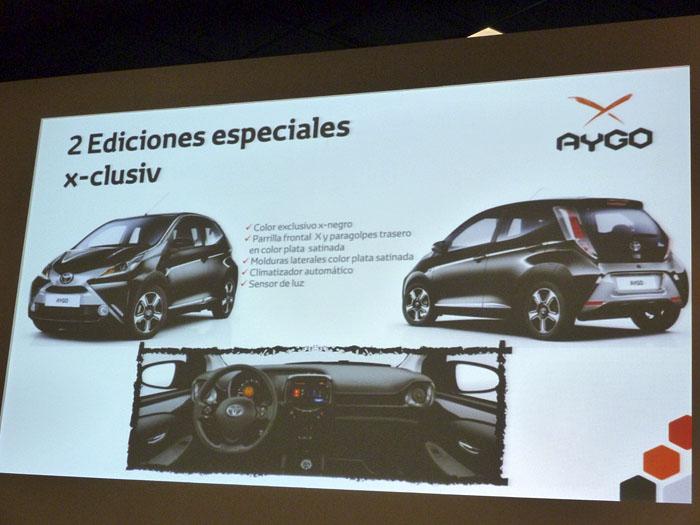Toyota Aygo (2015) Presentación. Edición especial x-clusiv