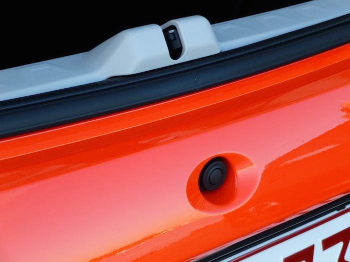 Toyota Aygo x-cite (2015). Cámara trasera
