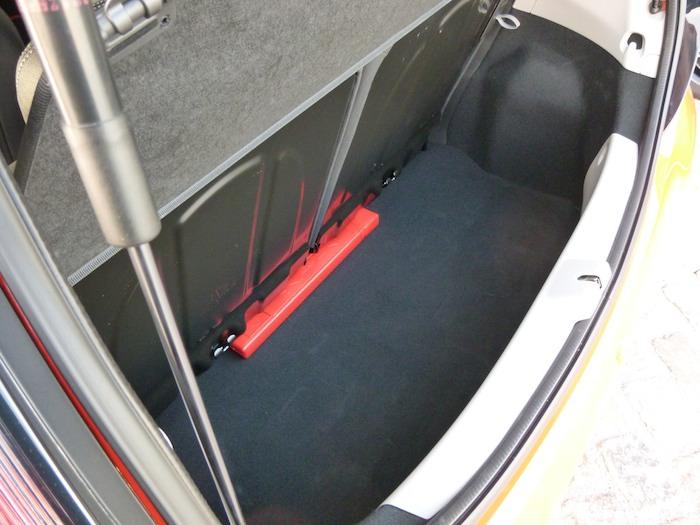 Toyota Aygo x-cite (2015). Espacio maletero