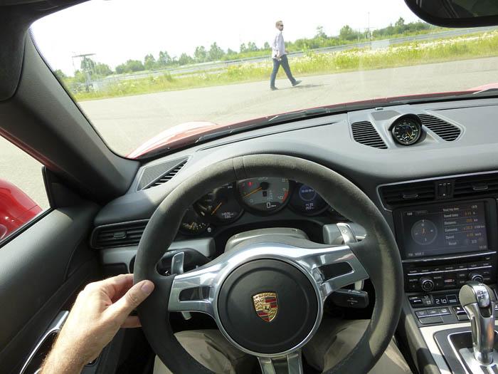 Porsche 911 GT3. Recién arrancado. Mi primer contacto.