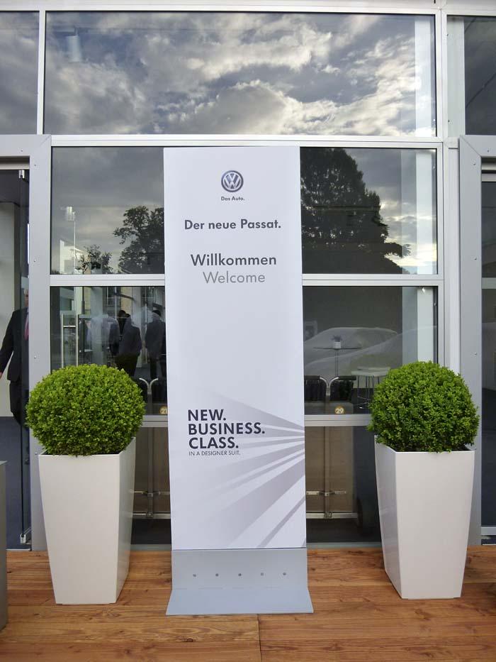 Presentación Volkswagen Passat 2015. Bienvenida
