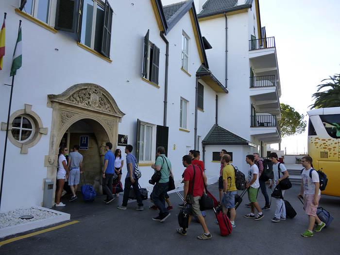 GT Academy Ronda. Hotel Catalonia. Julio 2014