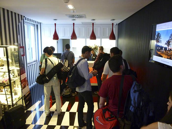 GT Academy Ronda. Recepción. Hotel Catalonia. Julio 2014