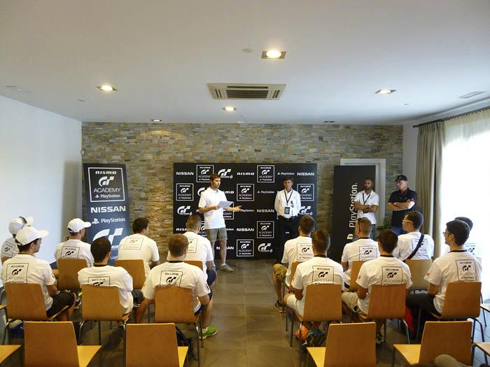 GT Academy. Circuito de Ascari. Briefing. 2014