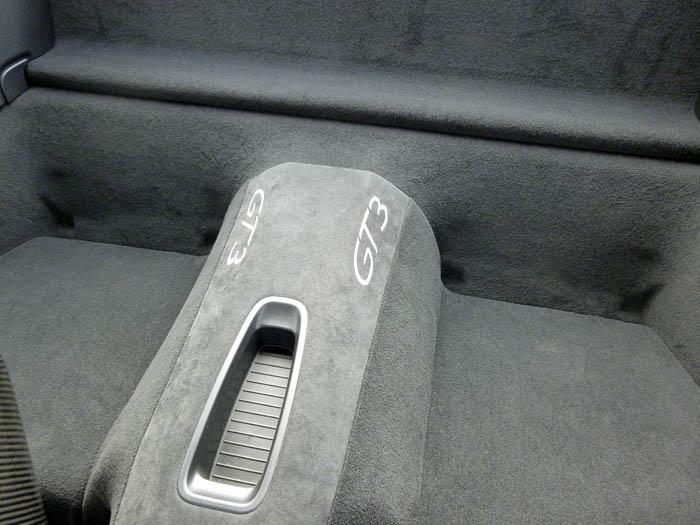 Porsche 911 GT3. Sin asientos posteriores