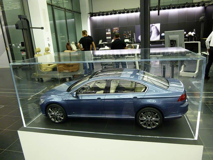 Presentación Volkswagen Passat 2015. Maqueta