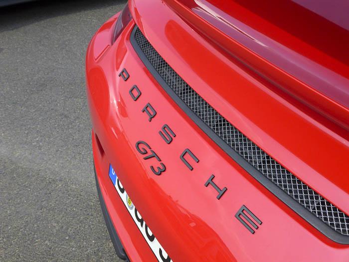 Porsche 911 GT3. El logo del deseo.