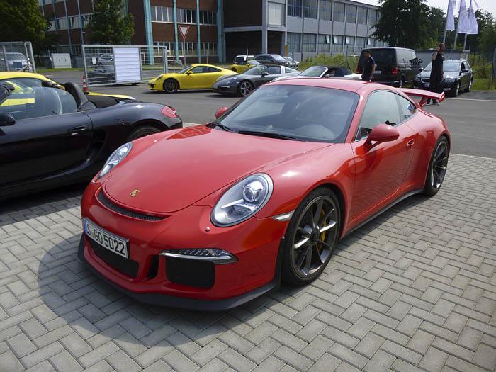 Porsche 911 GT3. Inofensivo