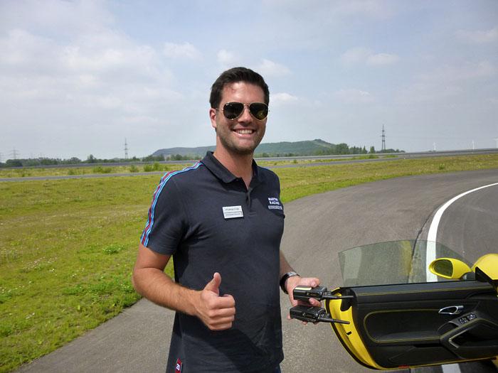 Porsche 911 GT3. Instructor: Constantin Dressler