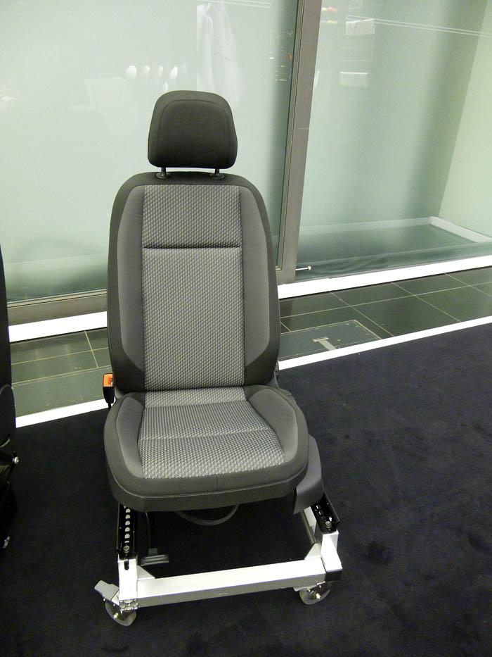 Presentación Volkswagen Passat 2015. Asientos