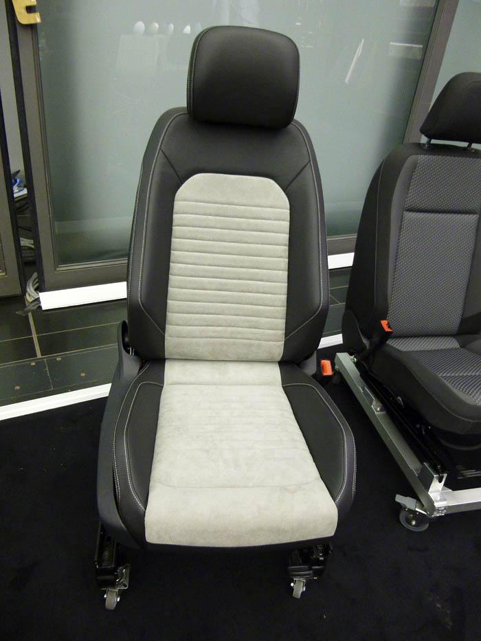 Presentación Volkswagen Passat 2015. Asiento