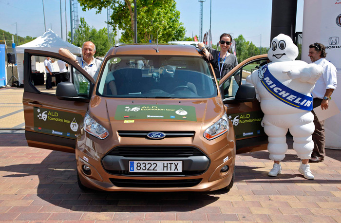 ALD EcoMotion Tour. Ford Tourneo Connect 1.6-TDCI 95 CV