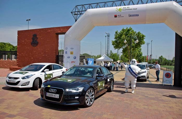 ALD EcoMotion Tour. Audi A6 Hybrid