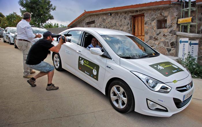ALD EcoMotion Tour. Hyundai i-40 1.7