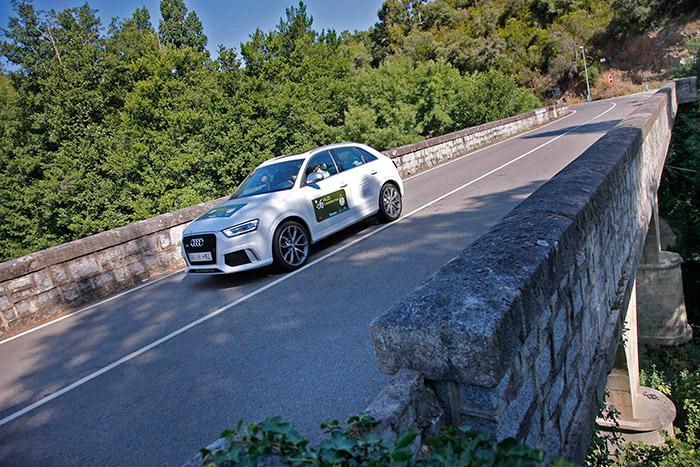 El Audi Q3 2.5 RS quattro sin duda era el más prestacional del plantel, pero también se bebió 66 litros de gasolina. No obstante, con sólo 8 minutos de penalización, dejó atrás a unos cuantos rivales.