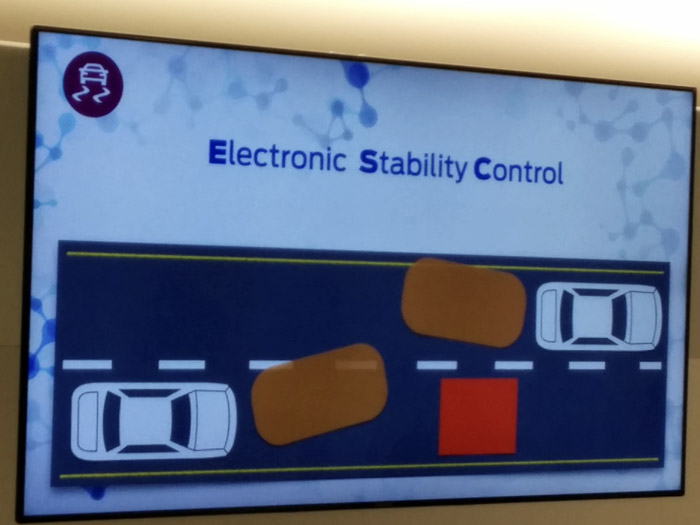 Ford Focus 205. Electronic Stability Control