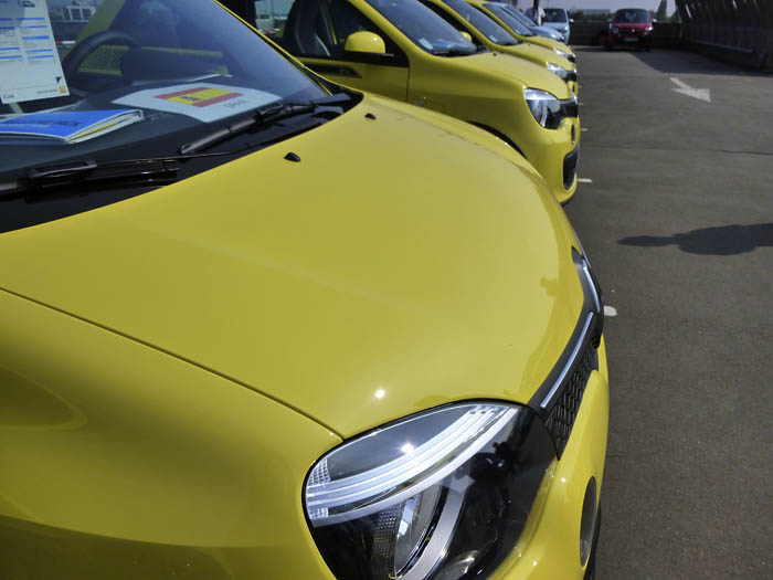Renault Twingo 2015. Detalles. Exterior y maletero.