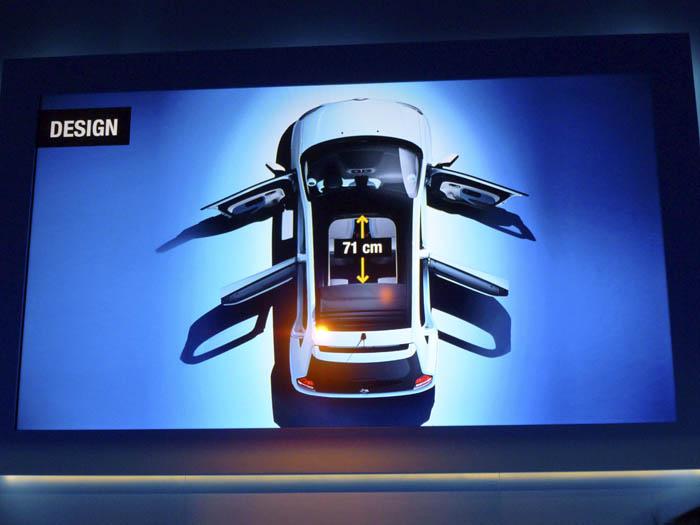 Renault Twingo 2015, Techo abrible.